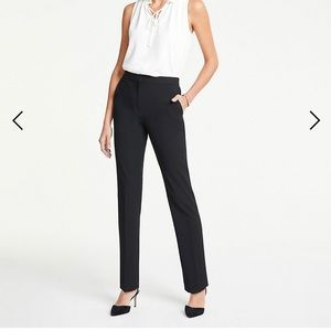 Ann Taylor black bi-stretch pants